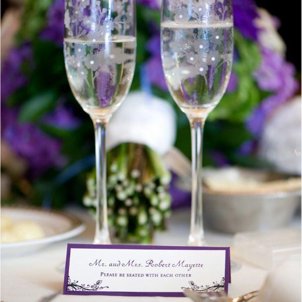 Old World Literary Romance Wedding