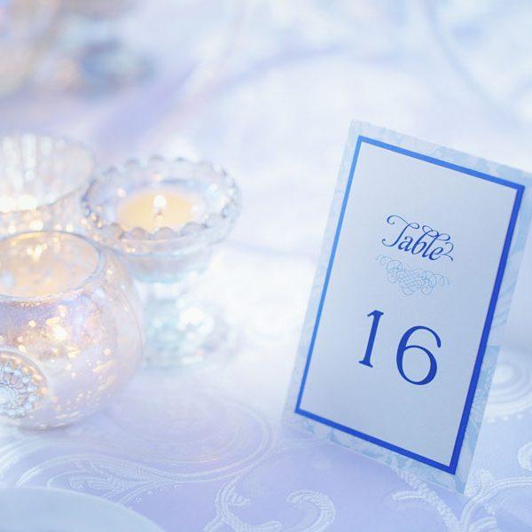 Ice Blue Garden Wedding