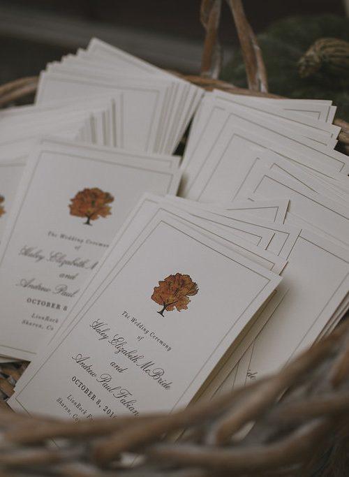 Autumn Bliss - Lion Rock Farm Wedding in Connecticut