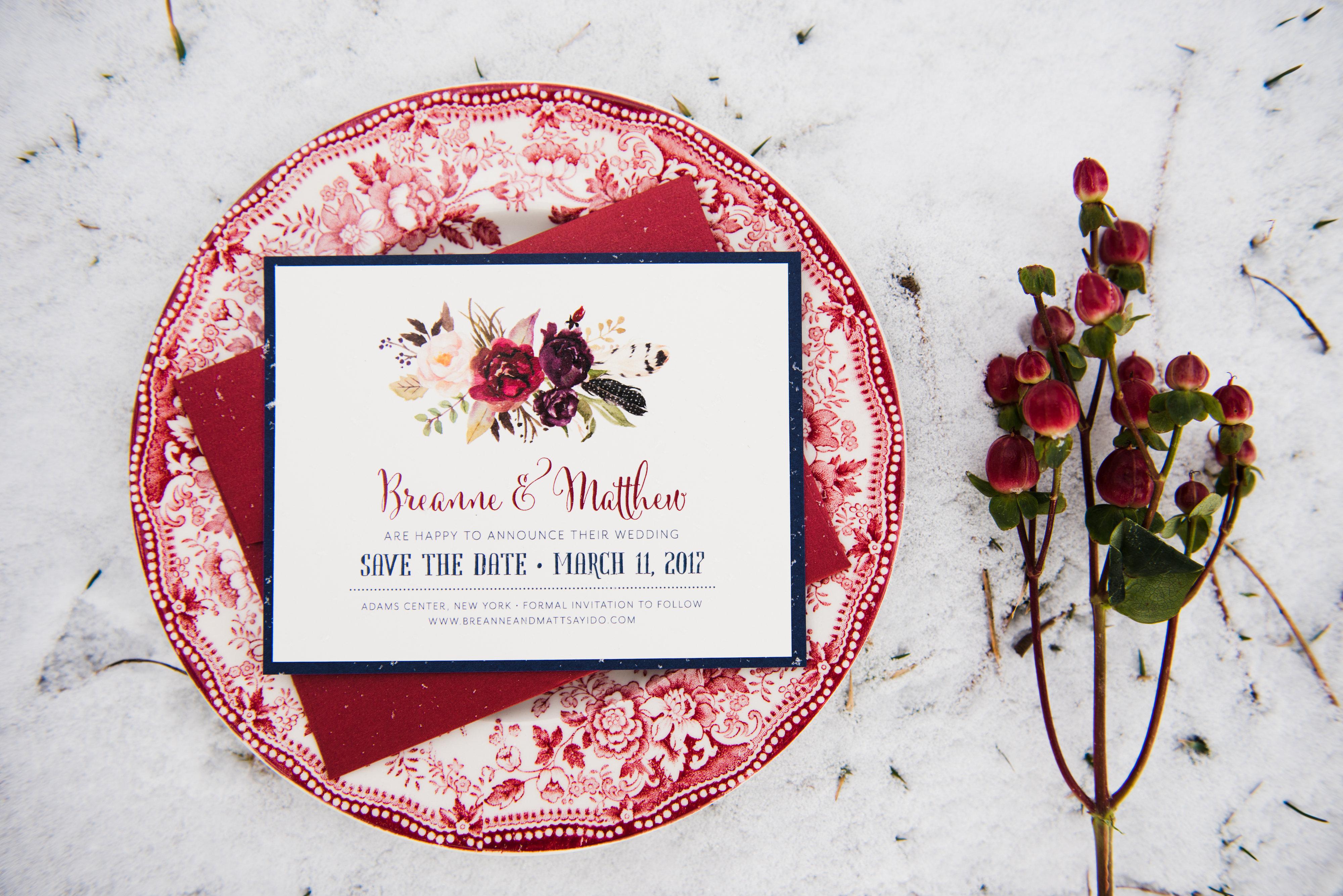 Winter Woodland - Creative Shoot - Admire Design | Custom Event Paper